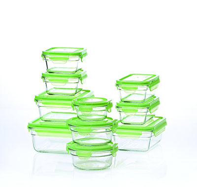 2. New Snaplock Lid: Tempered Glasslock Storage Containers