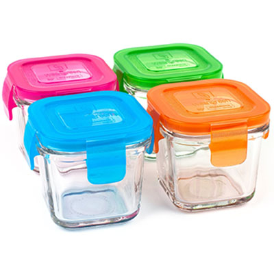3. Wean Green Wean Cubes Containers