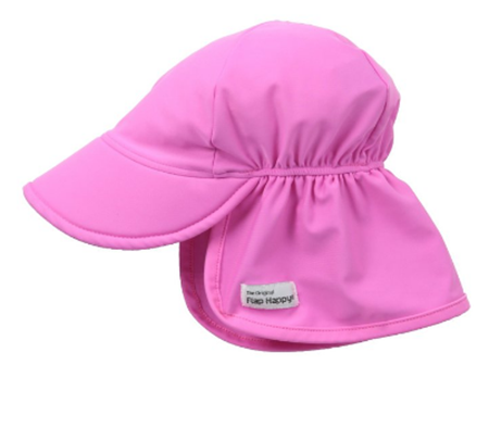 10. Flap Happy Baby Girls' Upf 50+ Swim Flap Hat