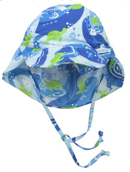 12. i play. Baby Boys' Flap Sun Protection Hat