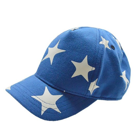 7. Home Prefer Kids Boys Girls Cute Stars Cotton Adjustable Baseball Hats Sun Visors