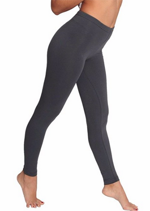 7. American Apparel Cotton Spandex Jersey Legging