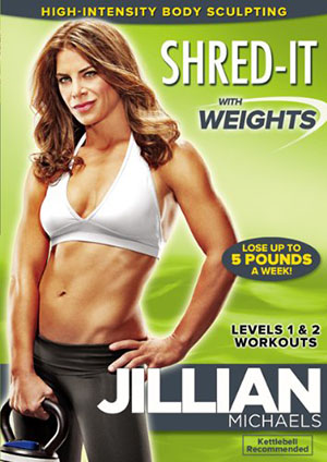 Jillian Michaels: Shred-It With Weights-Best Lose-Weight Workout DVDs