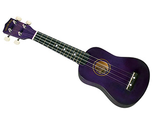 2. Diamond Head DU-108 Rainbow Soprano Ukulele