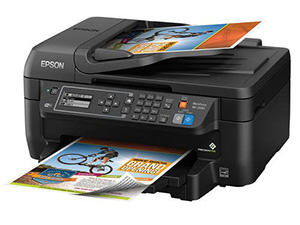 10. Epson WorkForce Wireless All-in-One - printers copiers and fax machines