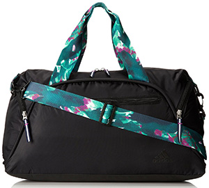 The Adidas Womens Fearless Club Bag Is A Smart Design Gym Designed For Women This Features Gorgeous Polyester Exterior With Light And Dark