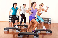 step aerobics with dumbbells-Get Rid Of Hangover