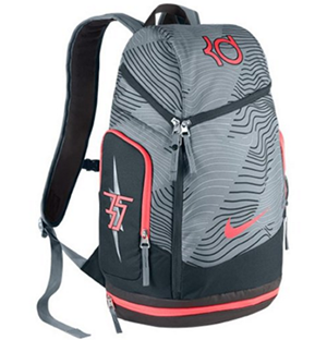 3. NIKE KD MAX AIR KEVIN DURANT Basketball Backpack