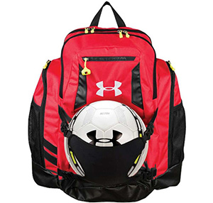 d415b848c74e This bag comes in a gorgeous design and equipped with a neoprene ball  holder that store almost all kind of sports ball. It comes with UA storm  treated ...