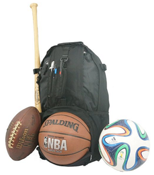 5. K Cliffs Baseball/ basketball Backpack
