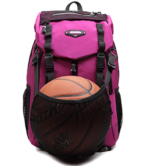 6. Bagland Laptop School Sports Travel Basketball Backpack
