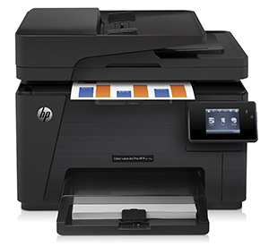 8. HP Wireless Laserjet Color Printer with Scanner, Copier and Fax