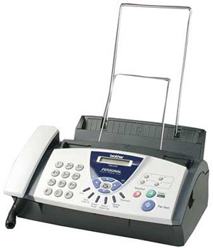 83. Brother FAX-575 Small Fax Machine