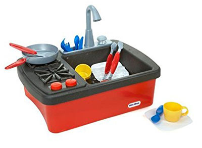 Playing In Your Sink Will Be More Fun Now With This Kitchen Playset. The  Splish Splash Stove And Sink Is A Portable, Affordable And Easy To Clean  Playset ...