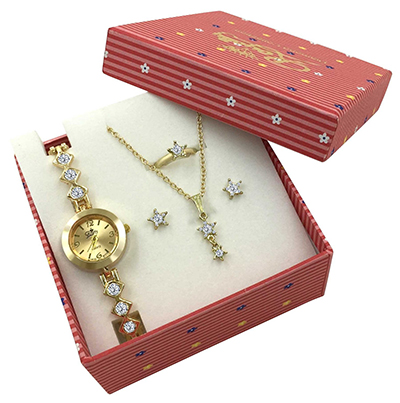Best Gold Ladies Jewelry Watch Sets