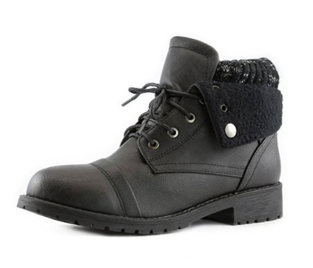 9. DailyShoes Tina Ankle Boots-Best Combat Boots For Women 211086add