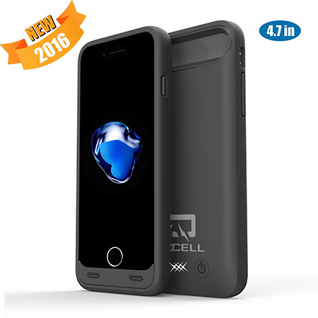 1. QCell 4000mAh Charging Case iPhone 7 Battery Case