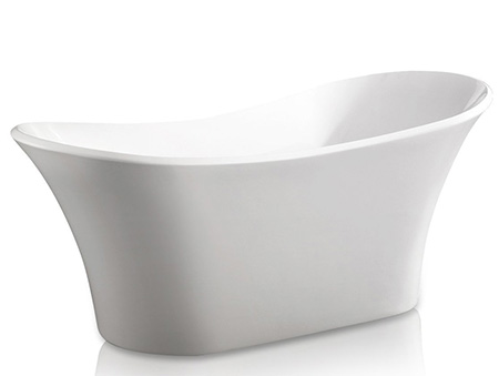 1. AKDY AZ-F274 Bathroom Freestand Acrylic Bathtub - Best Modern Bathtubs