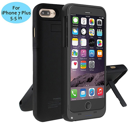 6. Bovon 4000mAh Ultra Slim iPhone 7 Plus Battery Case