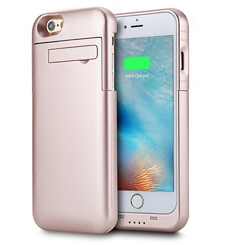 8. Peyou 3200mAh Ultra Slim iPhone 7 Battery Case