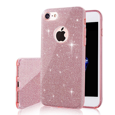 9. Milprox SHINY GLITTER iPhone 7 Case