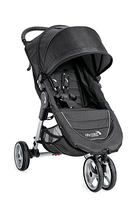 Baby Jogger Black/Gray Mini 3W Single Stroller