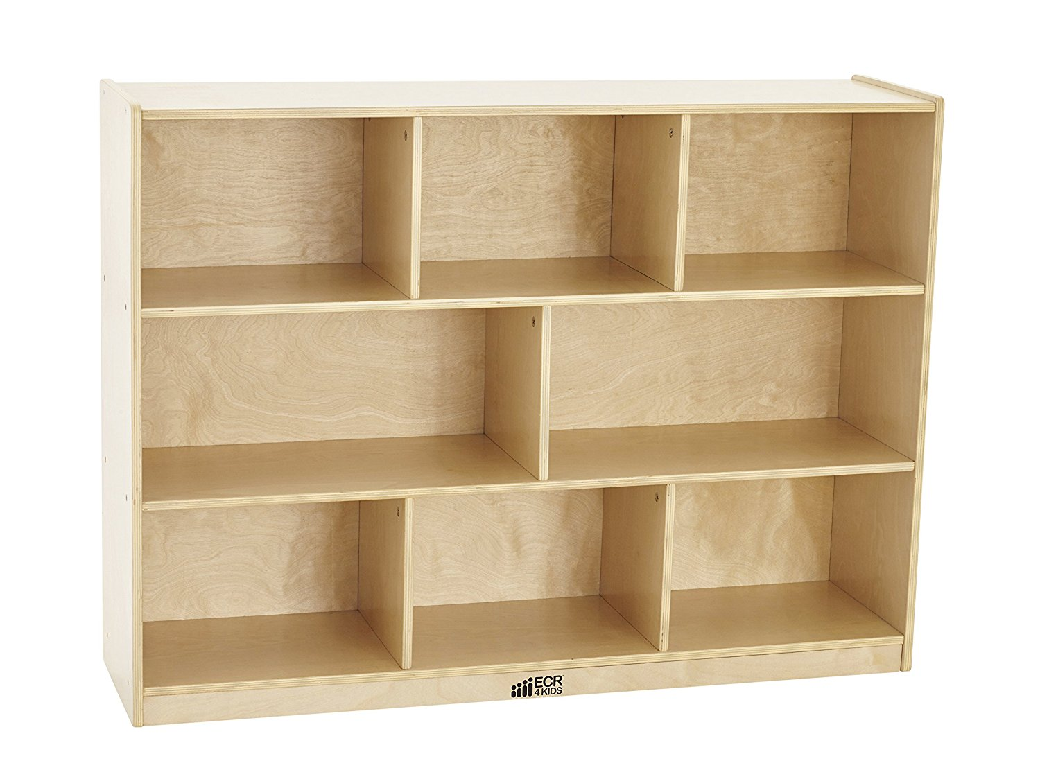 "ECR4Kids 36""H Natural Storage Cabinet"