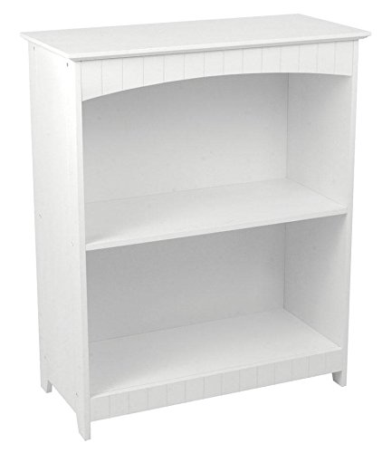 KidKraft Nantucket 2-shelf Bookcase-Best Bookcases for Kids