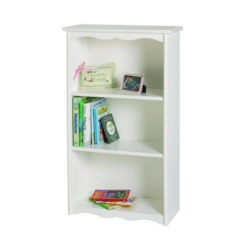 Little Colorado Solid White Traditional Bookcase