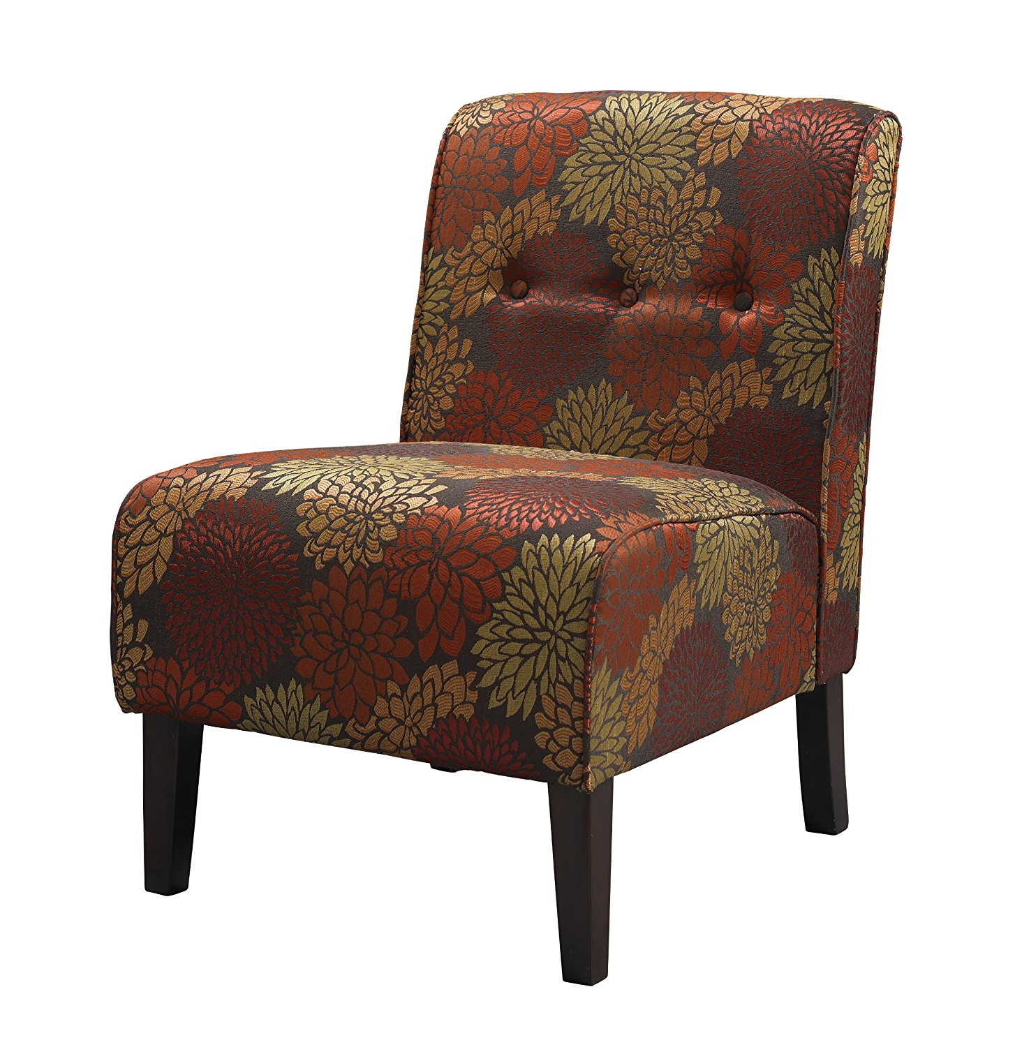 Classic accent chairs - Made With Sturdy Hardwood Construction The Coco Accent Chair From Linon Is Worth Having In Your Living Room It Is Where Classic Design Meets Contemporary