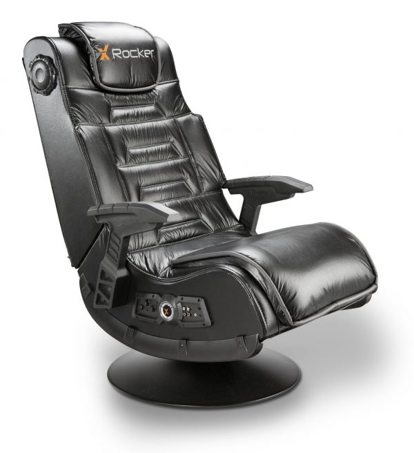 1. X Rocker 51396 Pro Series Pedestal 2.1 Video Gaming Chair