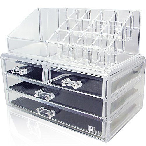 1. Ikee Design Acrylic Jewelry Boxes - Best Jewelry Boxes
