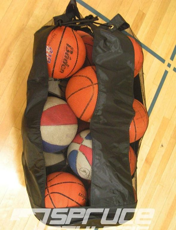10. Spruce Athletic X-Large Heavy Duty Ball Bag