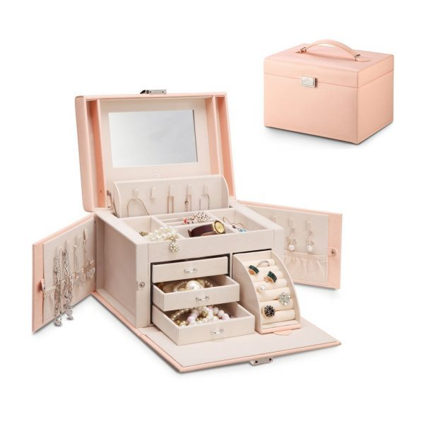 10. Vlando City Beauty Medium Jewelry Box