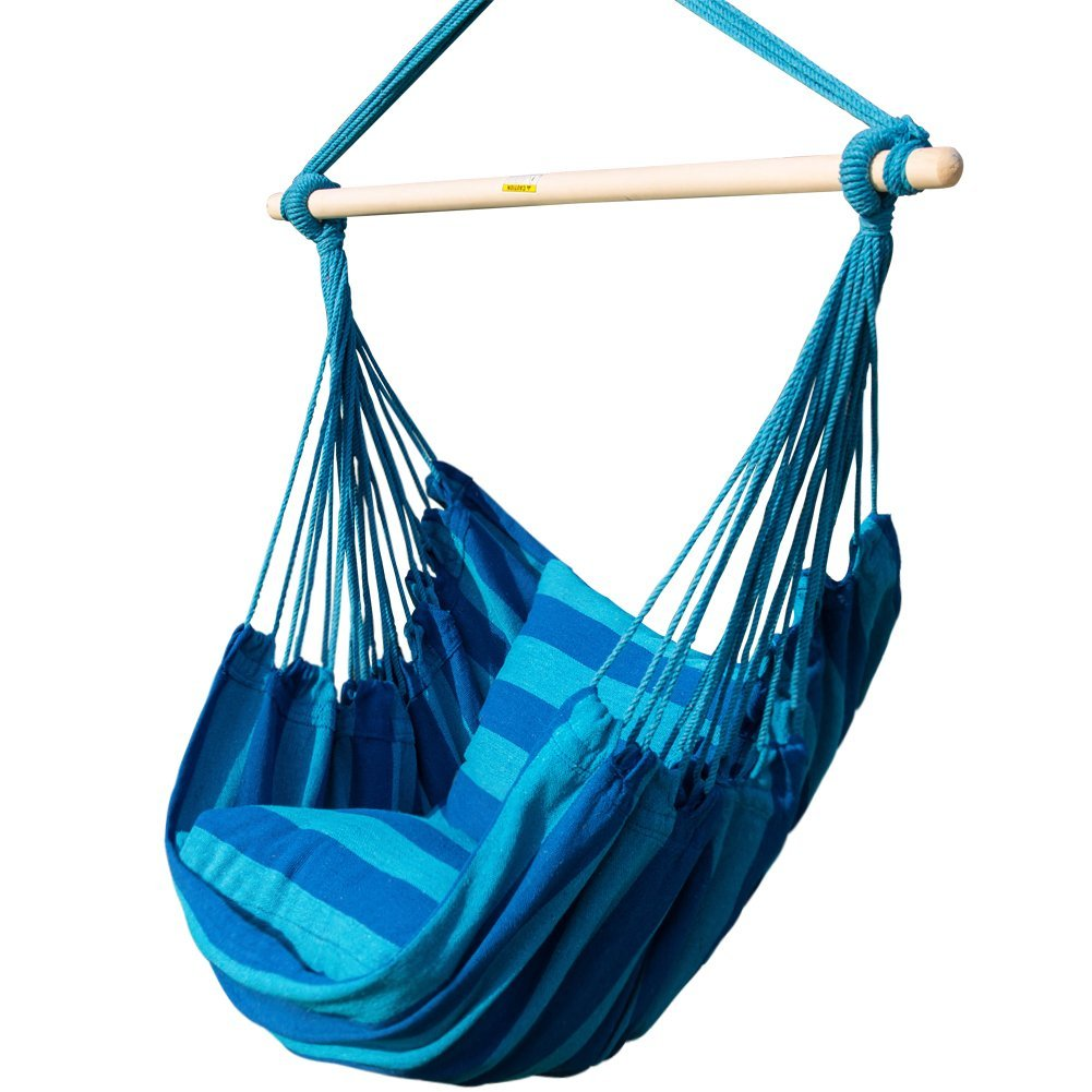Prime Garden Seaside Stripe Hammock Chair