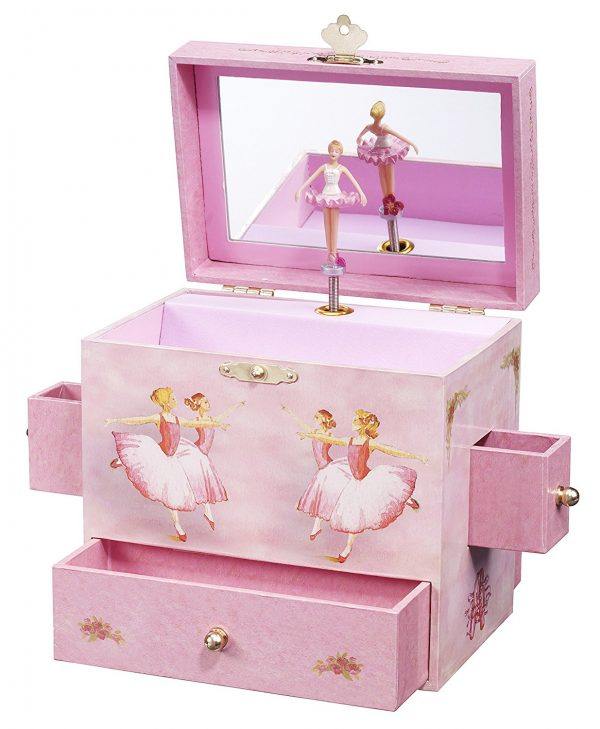 2. Enchantmints Ballerina Musical Jewelry Box- Best Jewelry Boxes for Women