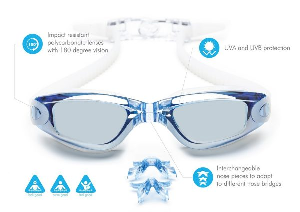 Actorstion Mirrored Swim Goggles