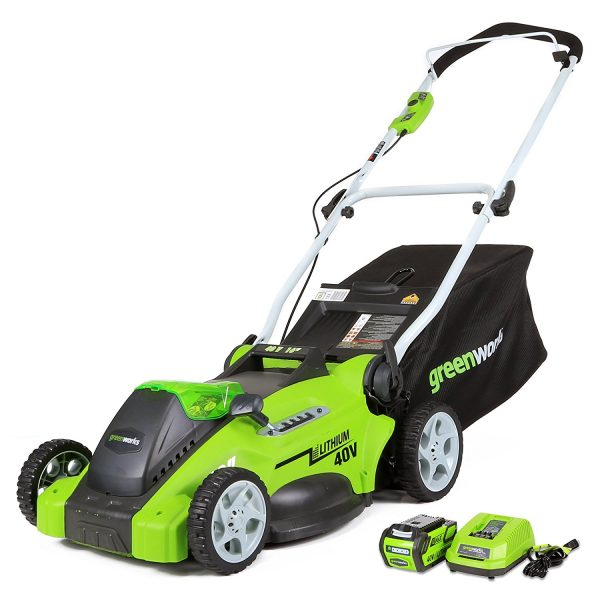3. GreenWorks 25322 G-MAX 40V 16-Inch Cordless Lawn Mower