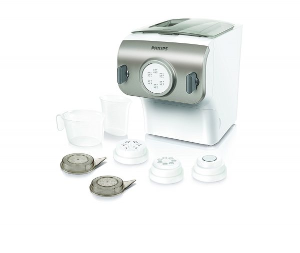 3. Philips Pasta Maker-Avance Collection, HR2357/05, white