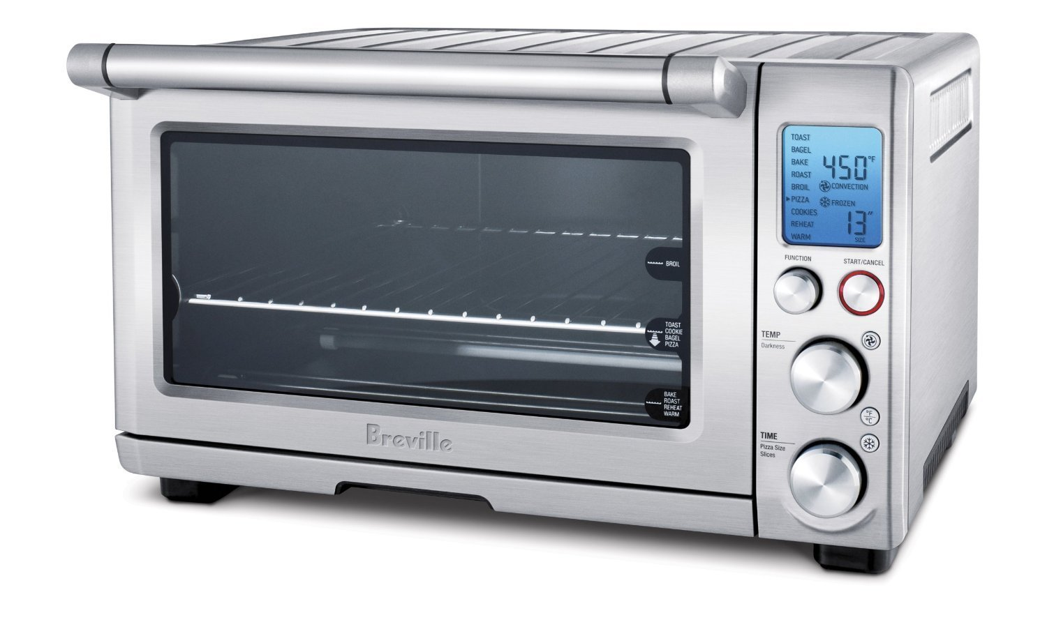 Breville bov 800 xl smart oven 1800 watt convection toaster oven