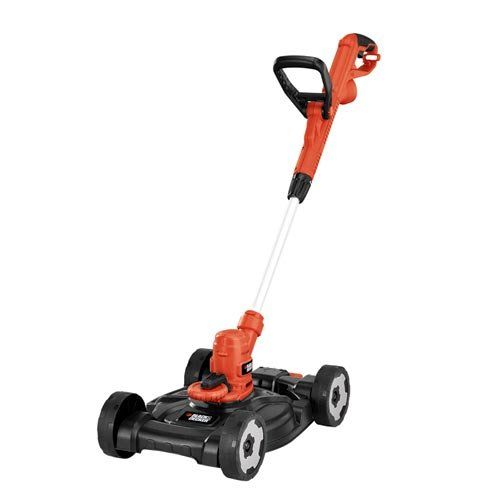 "4. BLACK+DECKER 12"" 3-in-1 Trimmer/Edger and Mower"