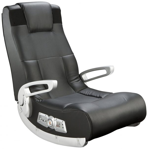 5. X Rocker 5143601 II Video Gaming Chair, Wireless, Black