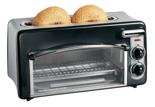 Hamilton beach toastation 2 slice toasters and counter top oven