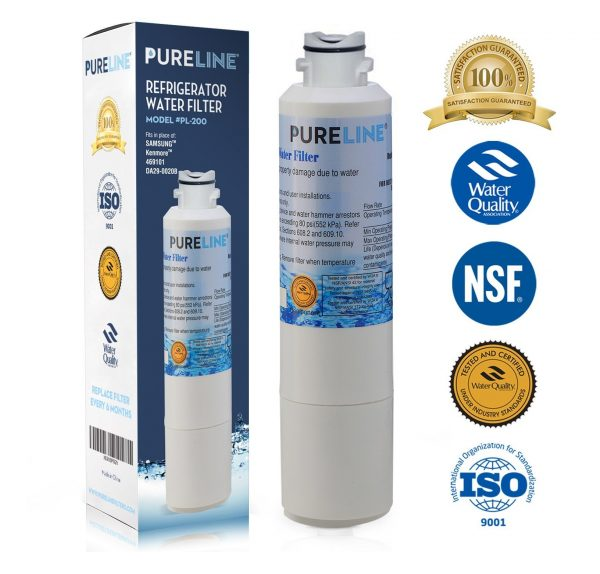 5. Pure Line Refrigerator Water Filter, Compatible with Samsung DA29-00020B