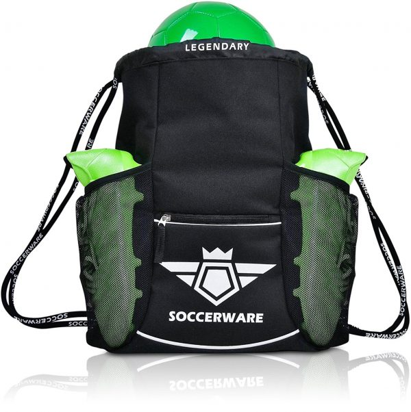 6. Soccer Bag Backpack - XL Capacity for Youth & Kids