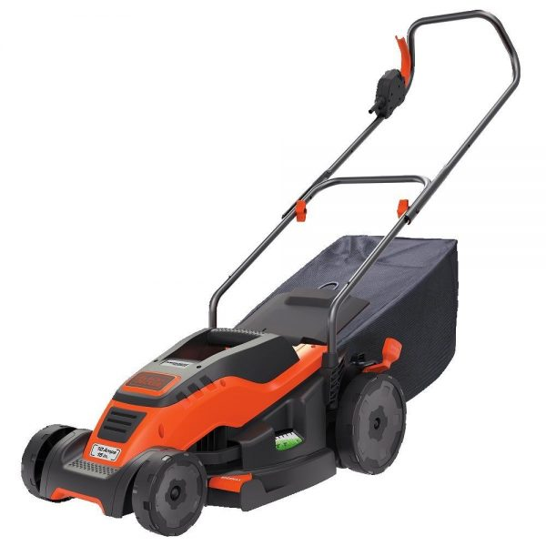 7. BLACK+DECKER 15-Inch Corded Mower with Edge Max