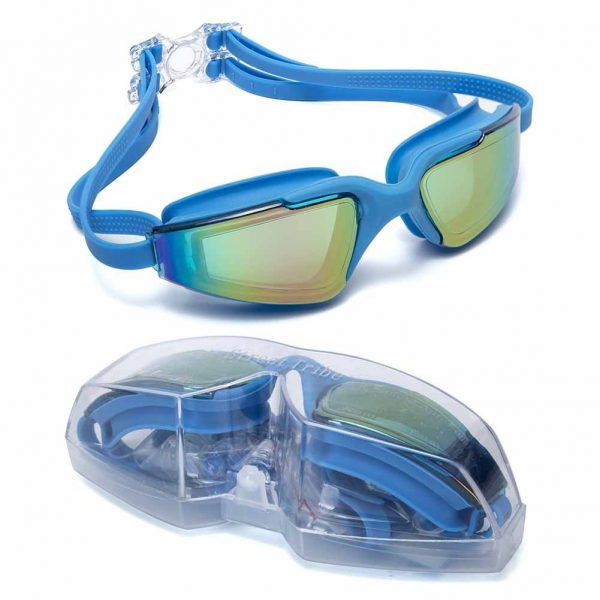 Aguaphile Mirrored Swim Goggles