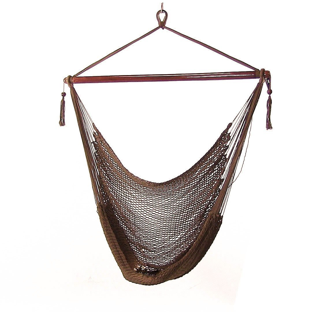 Sunnydaze Hanging Caribbean Extra Large Hammock Chair