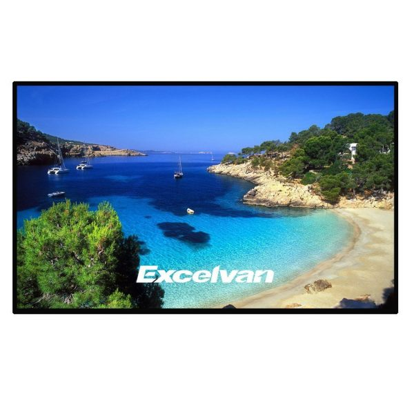 1. Excelvan Home Cinema Projector Screen