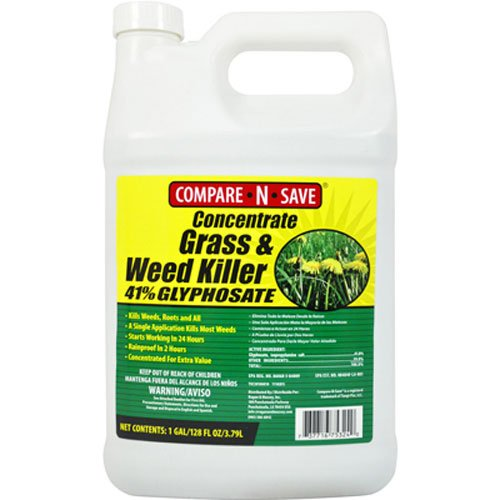 1. Compare-N-Save Concentrate Grass and Weed Killer
